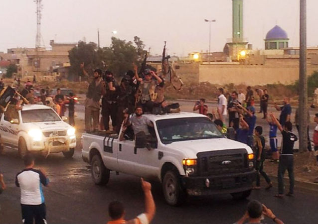 داعش في الموصل بالعراق