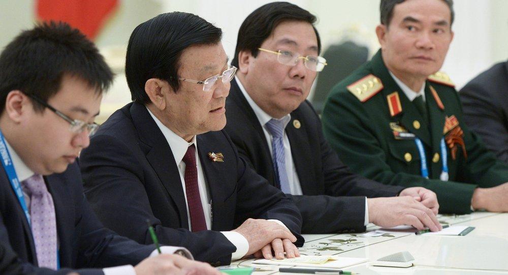 رئيس جمهورية فيتنام تشونغ تان شانغ