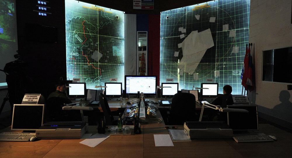 مركز قيادة للدفاعات الجوية الروسية