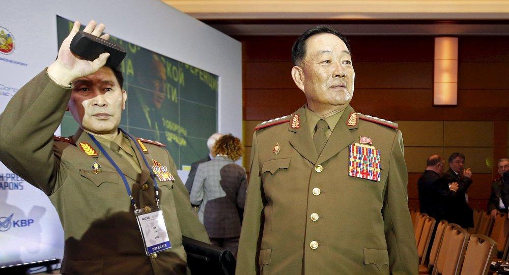 وزير الدفاع الكوري الشمالي هيون يونغ شول