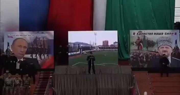 عقيدة الجيش الشيشاني: السلام عليكم ورحمة الله.. نحن جنود بوتين