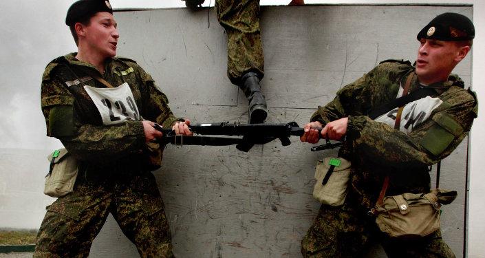 تدريب مشاة البحرية
