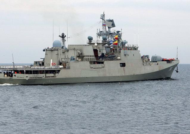 فرقاطة تريكاند تجتاز اختبارا في بحر البلطيق