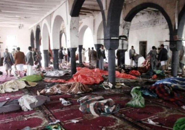 تفجير داخل مسجد بمنطقة القديح فى القطيف