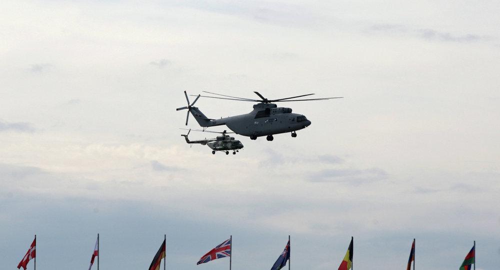مروحية مي-17-1في ومروحية مي-26تي2