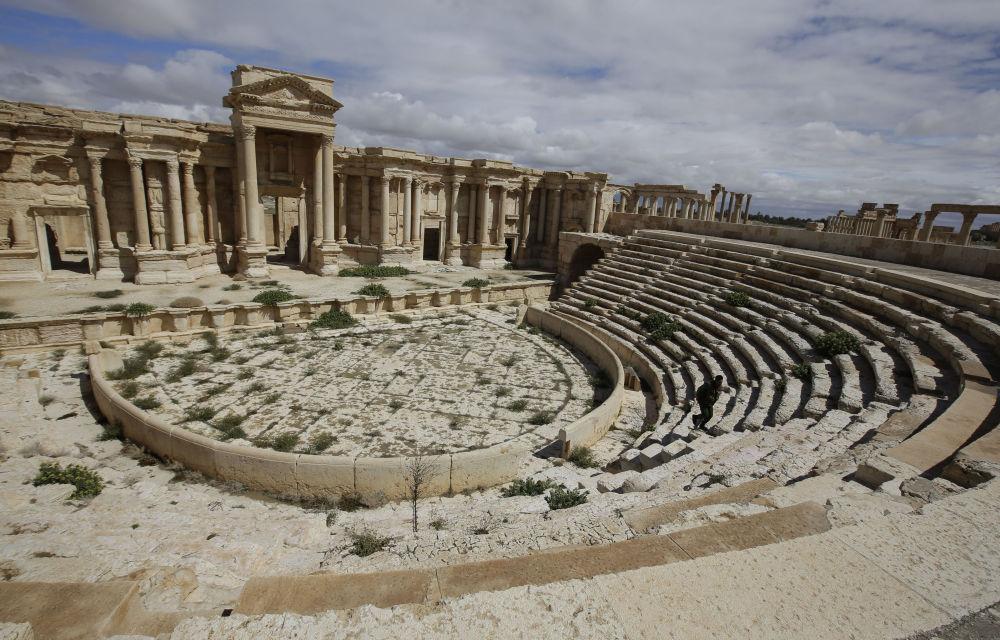 التراث العالمي اليونسكو سورية تدمر