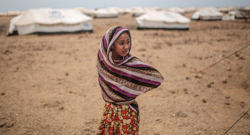 اللاجئون اليمنيين