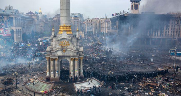ميدان الاستقلال في كييف