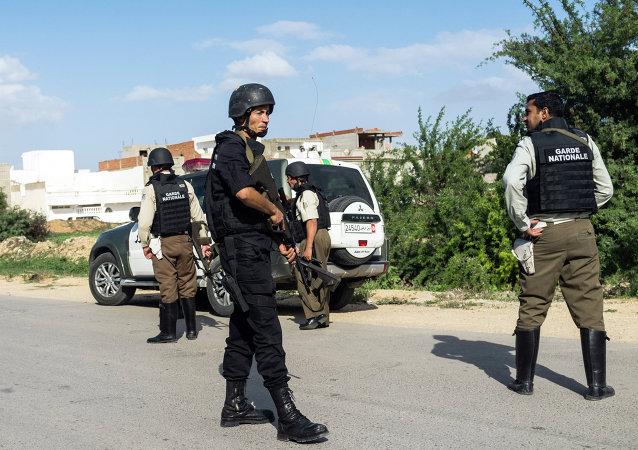 عناصر من الحرس الوطني التونسي