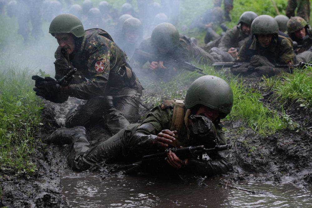 اختبارات القوات الخاصة نوفوسيبيريسك