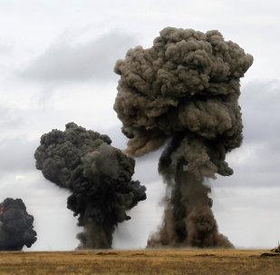 مناورات عسكرية في مقاطعة أستراخان