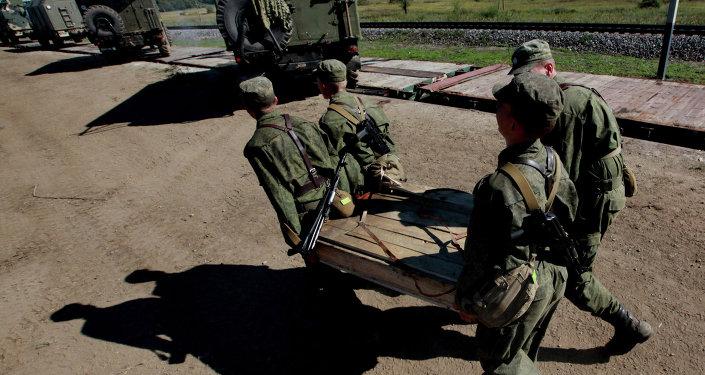 التأكد من مدى الجاهزية القتالية للقوات الروسية