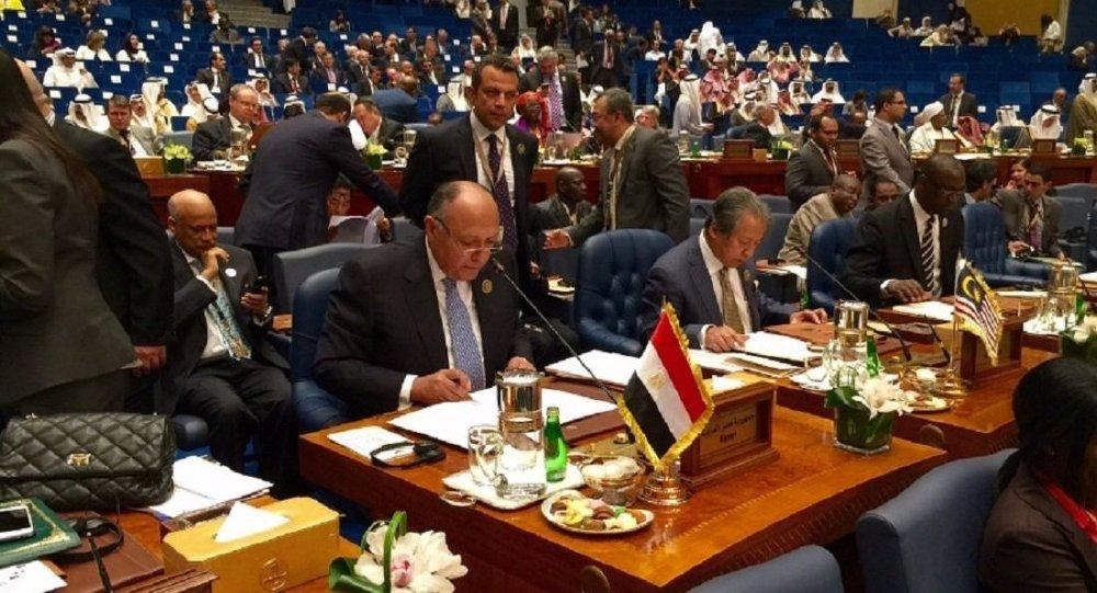 اجتماع وزراء خارجية التعاون الاسلامي