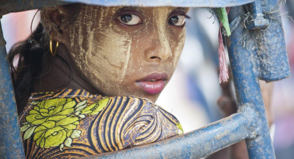 امرأة مسلمة في ميانمار