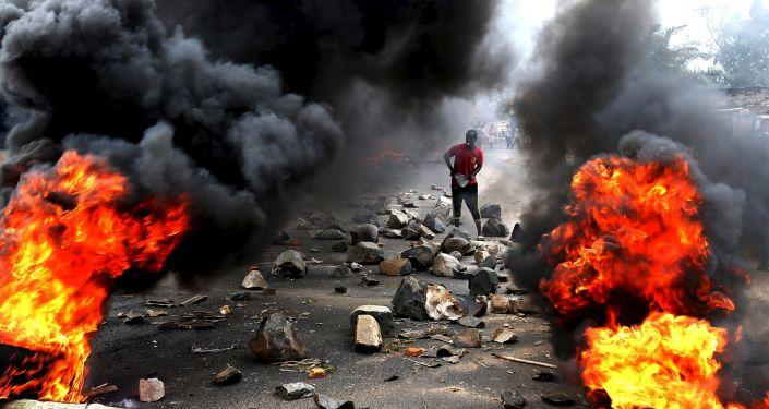 احتجاجات في بوروندي