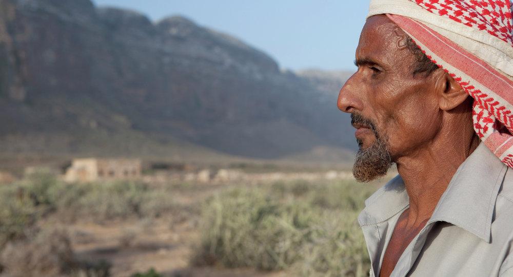 الشيخ نوح، زعيم إحدى القبائل فى سقطري اليمنية