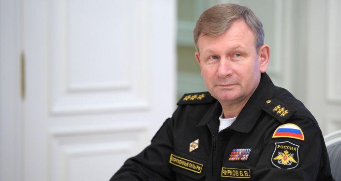 فيكتور تشيركوف، قائد القوات البحرية الروسية