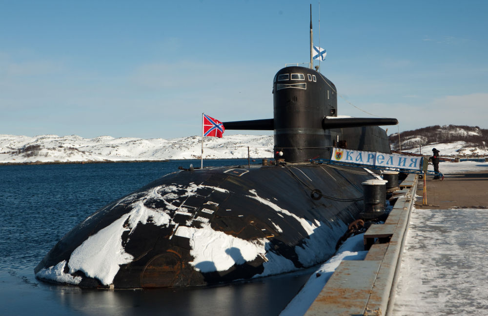 الغواصة النووية كاريليا