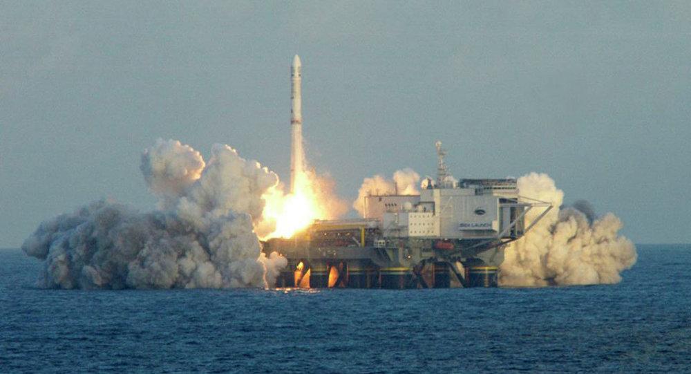قاعدة الانطلاق البحري الفضائية العائمة