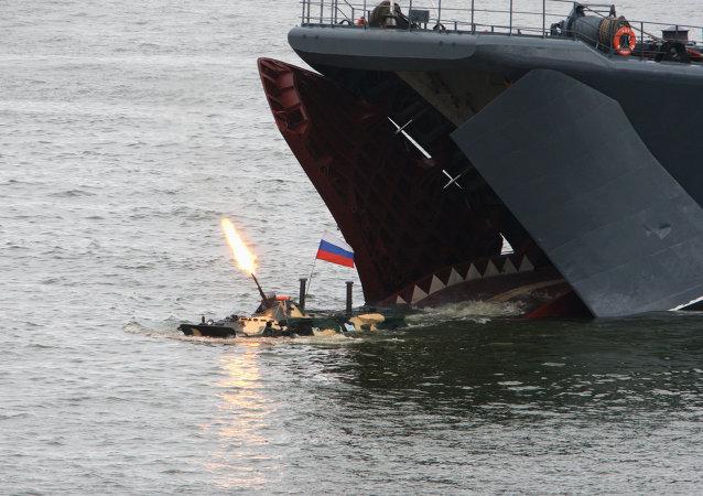 قوات الانزال البحري الروسية