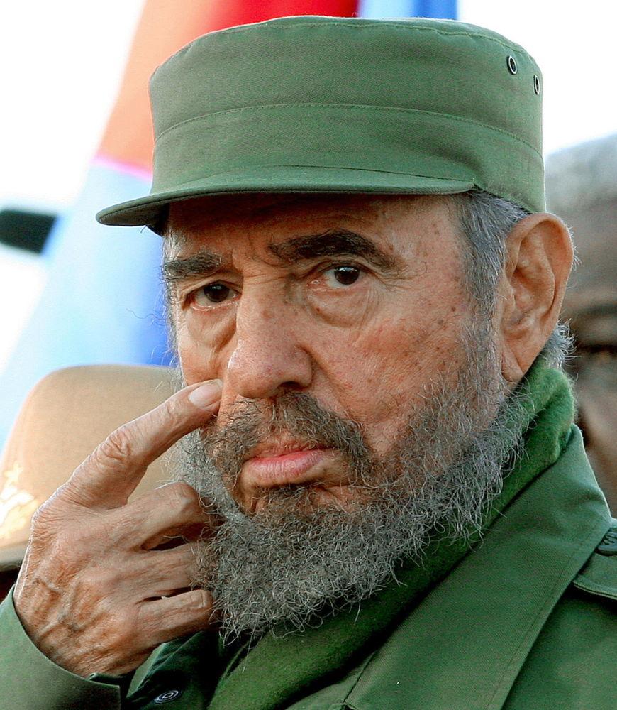 فيدل كاسترو رئيس كوبا
