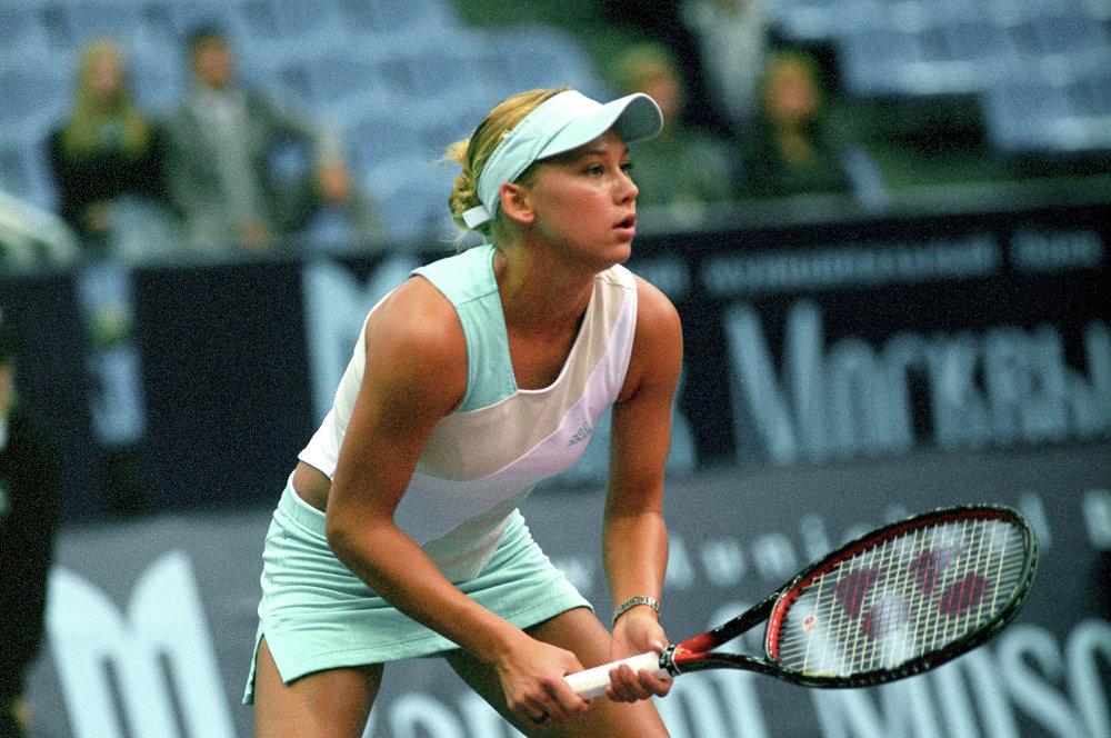 لاعبة كرة تنس الروسية آنا كورنيكوفا