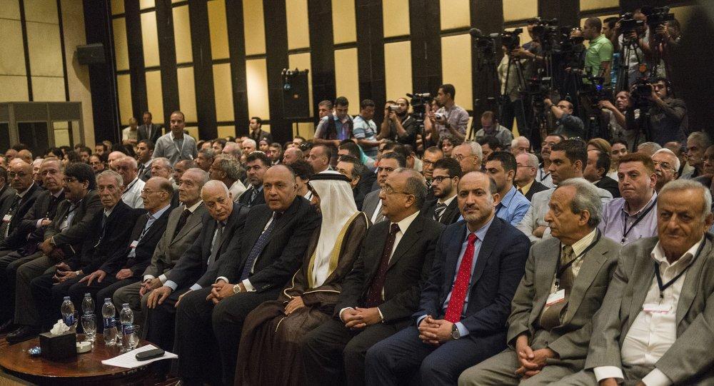 جتماع اطراف من المعارضة السورية في القاهرة