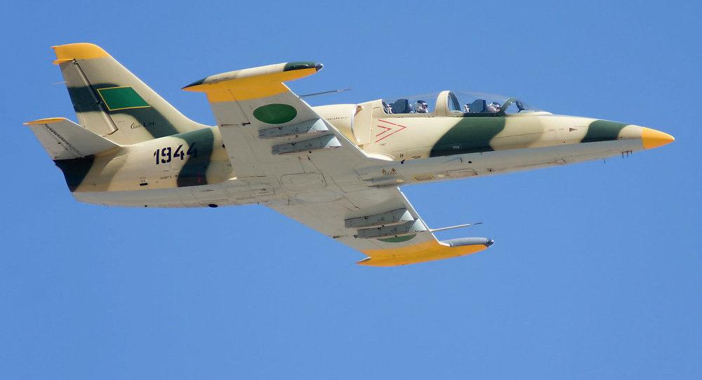 طائرة تابعة للقوات الجوية الليبية