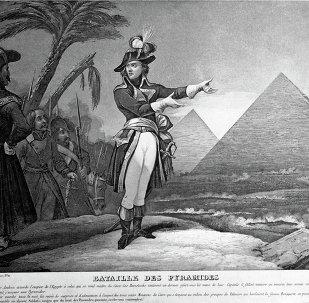 لوحة الإمبارطور نابليون بونابرت في مصر