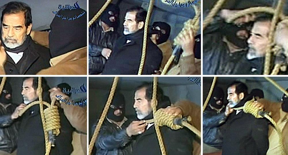 إعدام رئيس العراق الأسبق صدام حسين