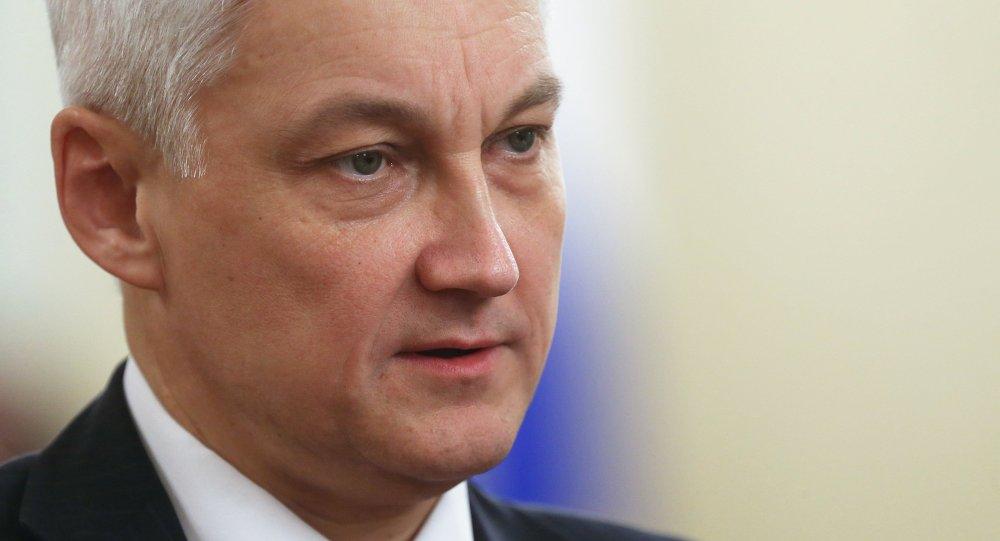 أندريه بيلوسوف مساعد الرئيس الروسي للشؤون الاقتصادية