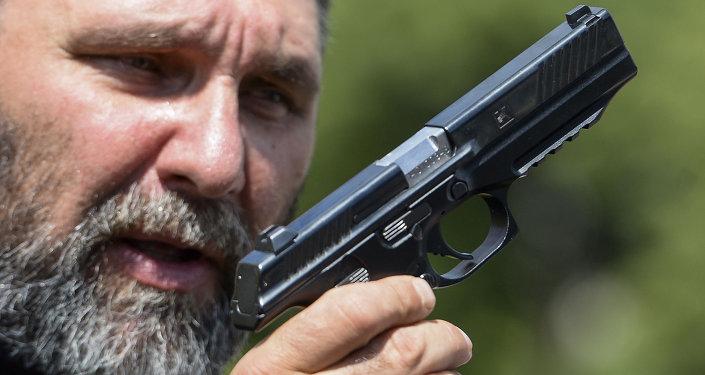 شركة كلاشينكوف لأول مرة تعرض نموذجا أوليا لمسدس عيار 9 ملم (مسدس ليبيديف)