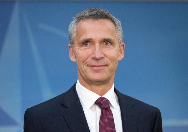 الأمين العام لحلف شمال الأطلسي، ينس ستولتنبرغ