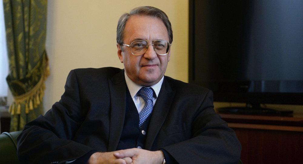 نائب وزير الخارجية الروسي، ميخائيل بوغدانوف