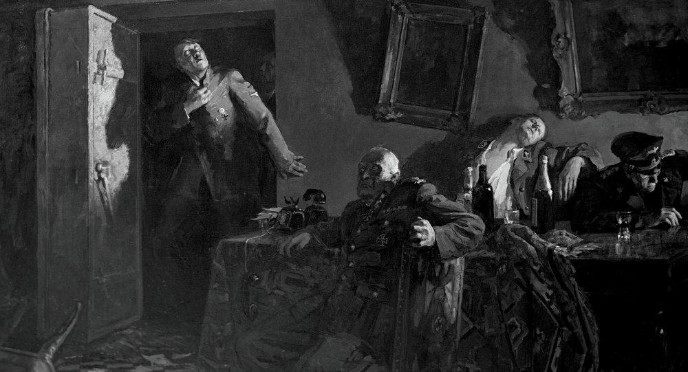 لوحة نهاية هتلر