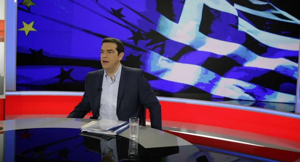 رئييس الوزراء اليوناني أليكسيس تسيبراس