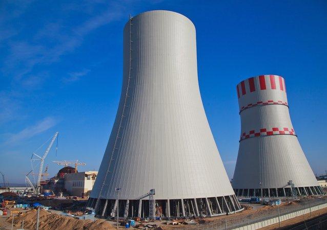 بناء محطة نووية