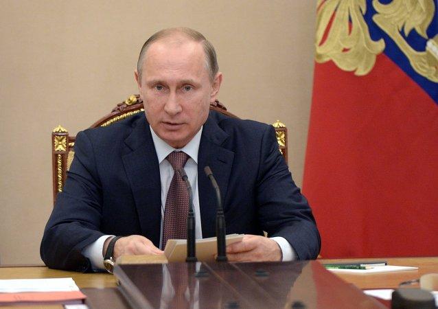 بوتين يعقد اجتماع مجلس الأمن الروسي