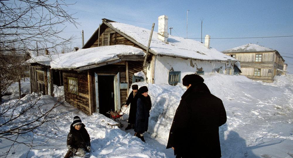 بيت خشبي