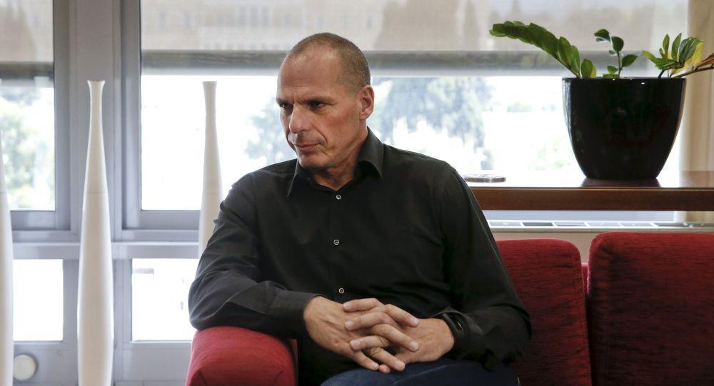 وزير المالية اليوناني يانيس فاروفاكيس