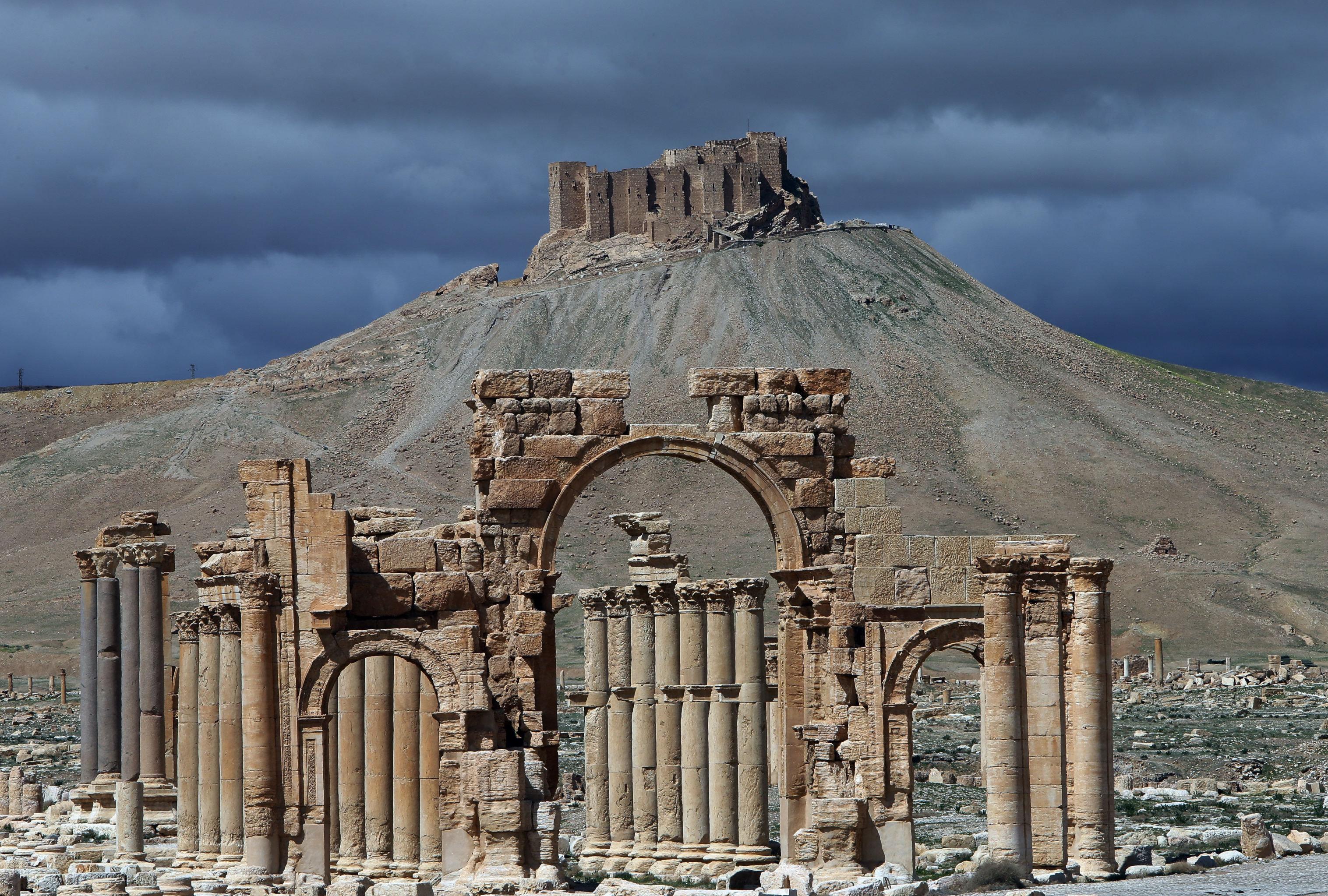 تدمر السورية وضعت على قائمة التراث العالمي لليونيسكو