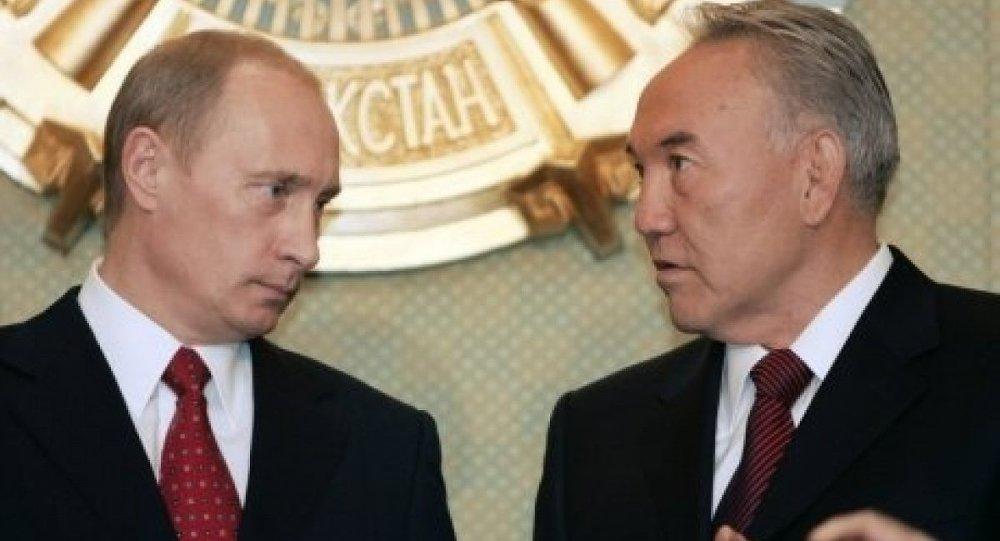 بوتين و نزارباييف