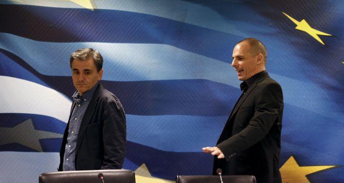 وزير المالية اليوناني إيفكليديس تسوكالوتوس