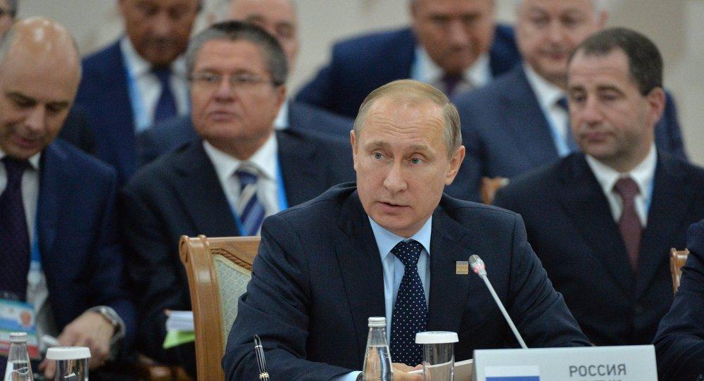 بوتين في قمة منظمة شنغهاي للتعاون في أوفا