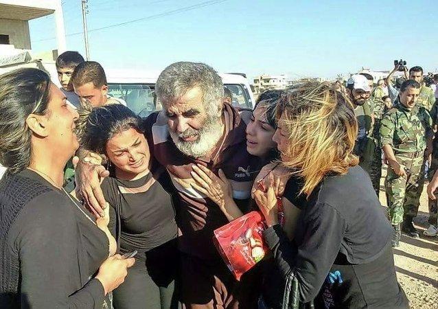 تحرير رهائن فى ريف حماة