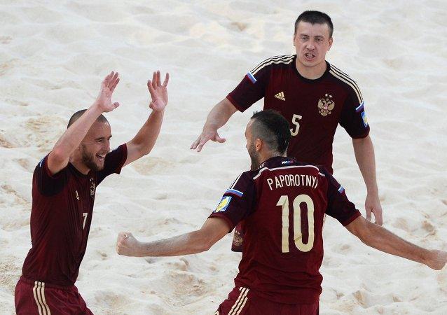 المنتخب الروسي لكرة القدم الشاطئية