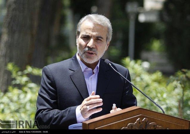 المتحدث باسم الحكومة الإيرانية، محمد باقر نوبخت