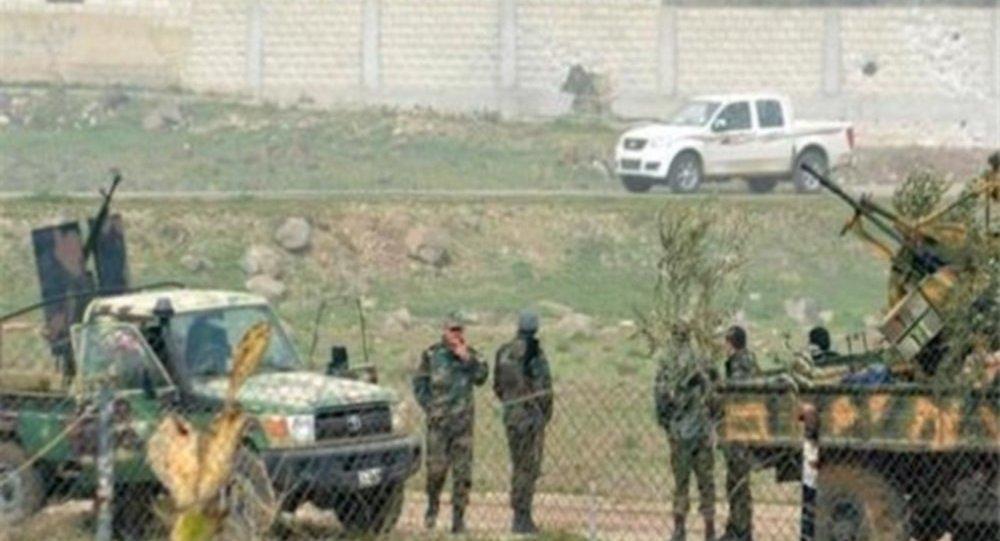 الجيش السوري في الزبداني