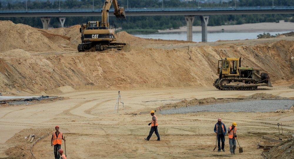 إنشاء ملعب جديد في مدينة فولغوغراد بمناسبة مونديال 2018