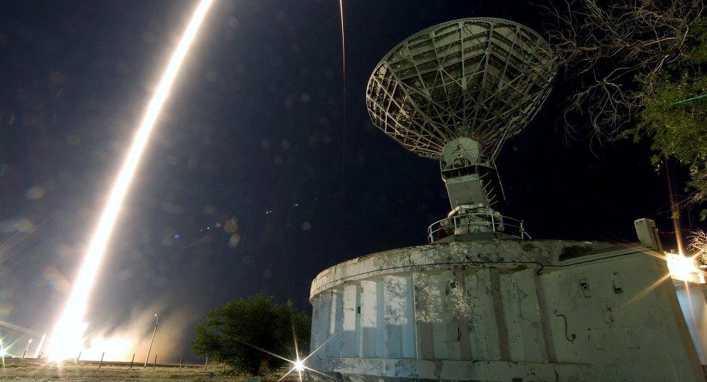 إطلاق المركبة الفضائية سيوز تي إم أ-17إم